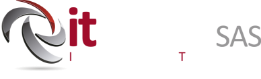 Logo It directo horizontal blanco